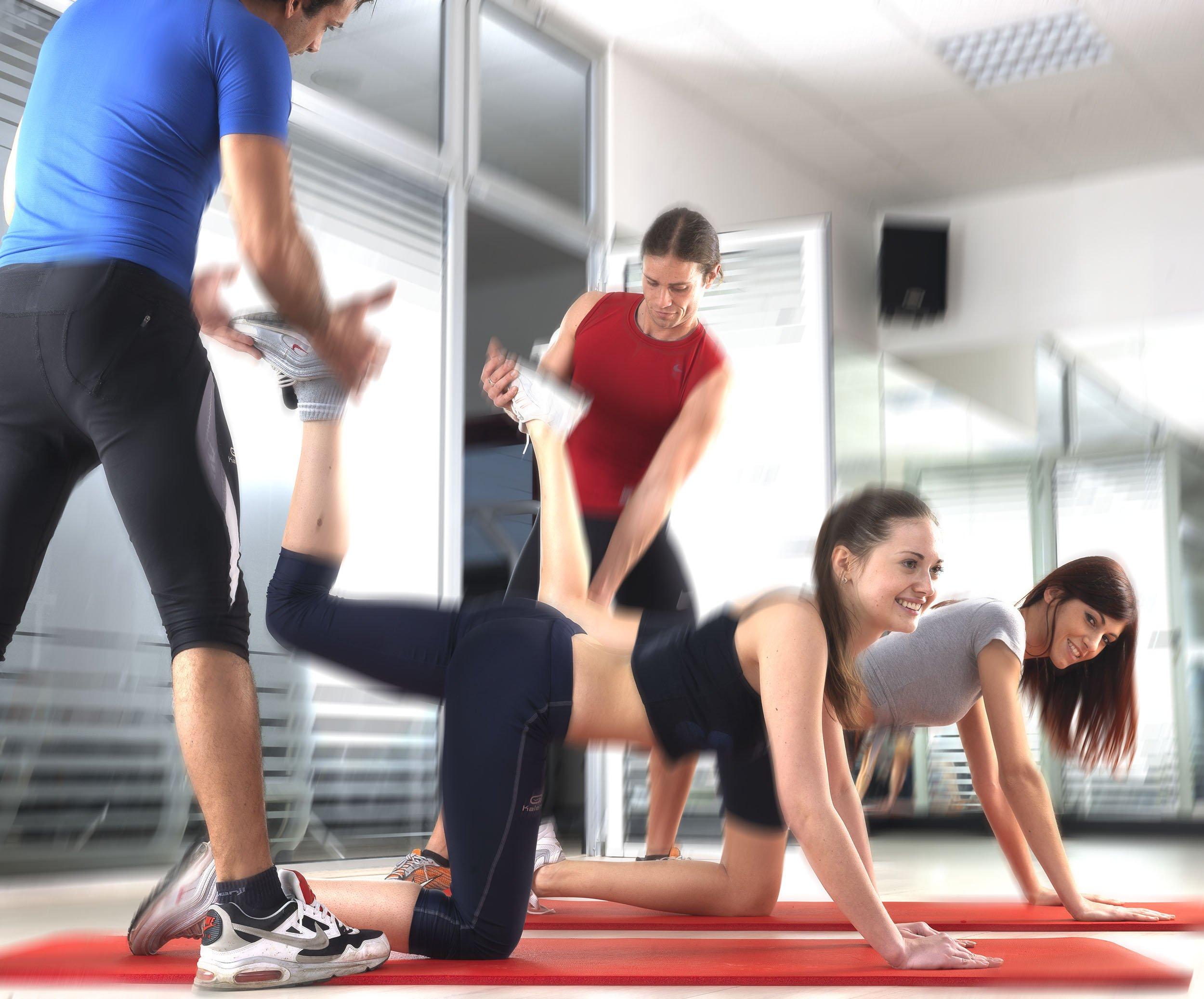 ragazze con personal trainer esclusiva tips
