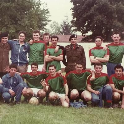 squadra calcio militare